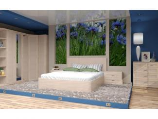 Спальный гарнитур Орнета - Мебельная фабрика «Лазурит»