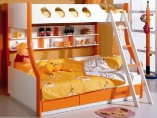 Кровать детская 336 - Мебельная фабрика «Мебель-комфорт», г. Березовский
