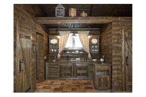 Кухонный гарнитур Шале - Мебельная фабрика «Камеа»