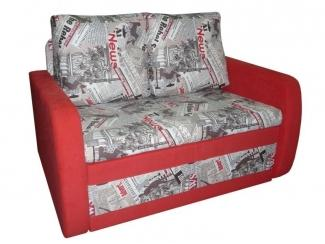 Одноместный яркий диван Бордо - Мебельная фабрика «Каскад-мебель»