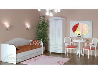 Спальный гарнитур АССОЛЬ №2 - Мебельная фабрика «Компасс»