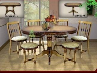 Обеденный комплект Саша - Мебельная фабрика «Верба-Мебель»