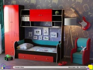 Детская Триумф-3 с раздвижной кроватью