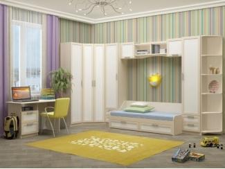 Модульная детская Юниор 7 - Мебельная фабрика «Регион 058»