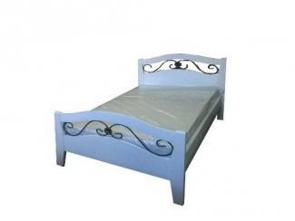 """Кровать """"Глория-9""""(0,9 белая эмаль)"""