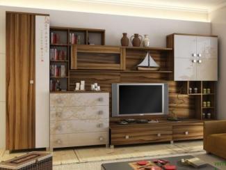 гостиная стенка Сакура  - Мебельная фабрика «Любимый дом (Алмаз)»