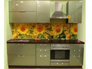 Кухонный гарнитур прямой 48 - Изготовление мебели на заказ «Ориана»