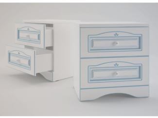 Ромео Тумба прикроватная с 2 ящиками RM-09 - Мебельная фабрика «SENATOR KIDS»
