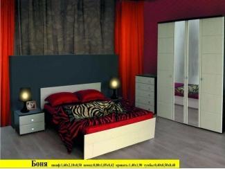 Спальня Боня  - Мебельная фабрика «Мебликон»