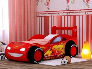 Детская кровать -машина Молния 3Д - Мебельная фабрика «Red River»