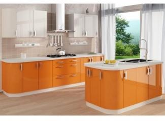 Креативная кухня Апельсин - Мебельная фабрика «Основа-Мебель»