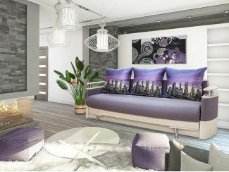 Диван прямой Алиса 5 - Мебельная фабрика «Диана», г. Омск