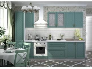 Кухня Модульная  Модена бирюза - Мебельная фабрика «Стендмебель»