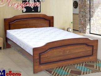 Кровать «Лазурит М-15» - Мебельная фабрика «Мебель Прогресс»