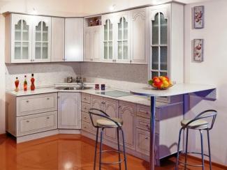 Кухня угловая Дуб Атланта - Серебро