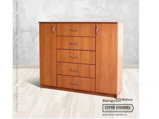 Комод 1200/5 +2дв ЛДСП - Мебельная фабрика «Фактура мебель»