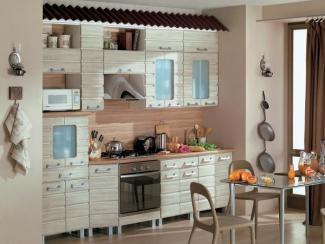 Кухня прямая «Сайдинг»