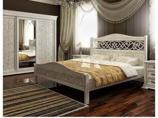 Спальня из массива ясеня Вероника