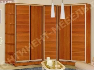 Вместительный шкаф-купе в спальню 29-2 - Мебельная фабрика «Континент-мебель»