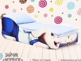 Кровать детская Зайчик Морячок - Мебельная фабрика «Бельмарко»