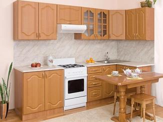 Кухонный гарнитур угловой Виктория Ольха - Мебельная фабрика «Мебель плюс»