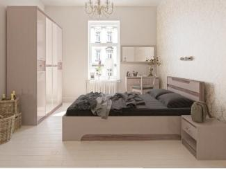 Спальный гарнитур Дебют светлый - Мебельная фабрика «Артель»