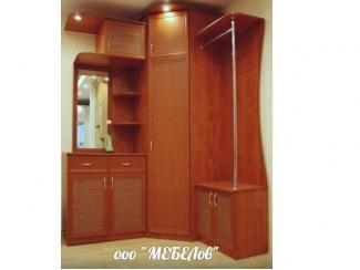 Угловой шкаф в прихожую  - Мебельная фабрика «МЕБЕЛов»