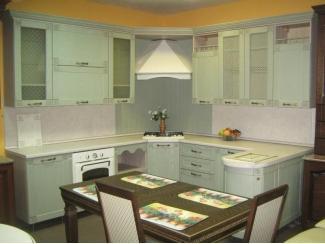 Угловая кухня Флорэ Эмаль - Мебельная фабрика «Киржачская мебельная фабрика»