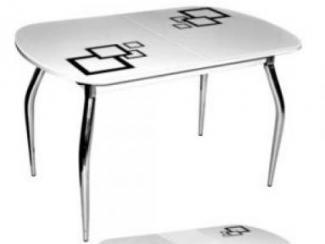 Стол обеденный стеклянный Сольди квадро