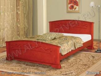 Кровать из дерева Камея 1 - Мебельная фабрика «Альянс 21 век»