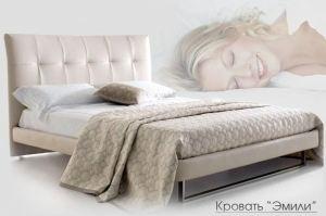 Кровать Эмили мягкая - Мебельная фабрика «VEGA STYLE»