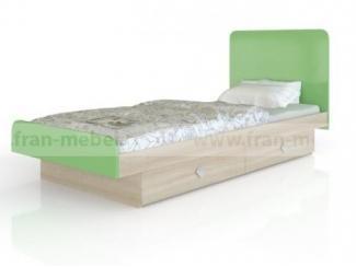 Удобная и стильная кровать с двумя выдвижными ящиками Жили-были - Мебельная фабрика «Фран»