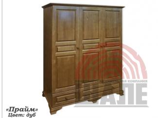 Шкаф из массива сосны Прайм - Мебельная фабрика «ВМК-Шале»