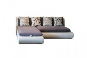 Угловой диван Кормак (дельфин, пружинная змейка, универсальный) - Мебельная фабрика «Ваш стиль»