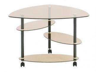 Стол журнальный Лепесток - Мебельная фабрика «Мебель из стекла»