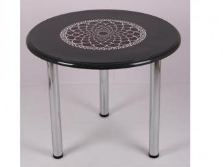 Стол обеденный Соренто черный - Мебельная фабрика «Мебель из стекла»
