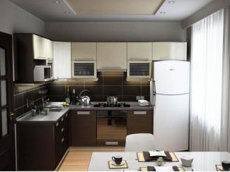 Кухня МДФ двухцветная (текстурная) - Мебельная фабрика «Ренессанс»