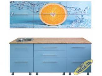 Кухня прямая 35 - Мебельная фабрика «Трио мебель»