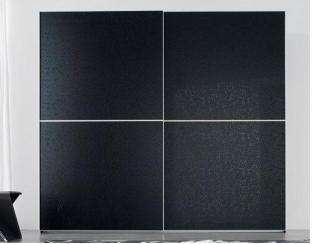 Черный шкаф-купе Альфа - Мебельная фабрика «Триана»