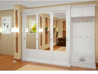 Белая Прихожая - Мебельная фабрика «Симбирский шкаф»