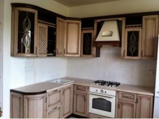 Кухня из массива дуба кантри с патиной - Мебельная фабрика «Леспром»
