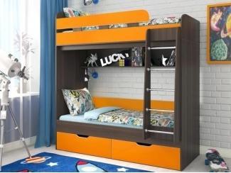 Кровать двухъярусная Юниор 5 - Мебельная фабрика «Сходня Мебель», г. Химки