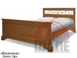 Кровать Бажена из дерева - Мебельная фабрика «ВМК-Шале»