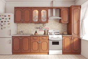 Кухонный гарнитур прямой Катанья - Мебельная фабрика «Вестра»