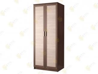 Шкаф распашной с реечным фасадом Д-1Р - Мебельная фабрика «Стиль»