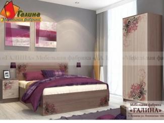Спальня с фотопечатью Ф-02 - Мебельная фабрика «Галина»