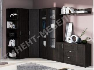 Гостиная в цвете венге Композиция 7 - Мебельная фабрика «Континент-мебель»