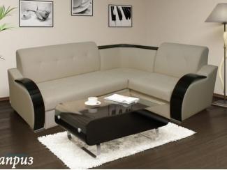 Светлый угловой диван Влада 1 - Мебельная фабрика «Каприз», г. Ульяновск