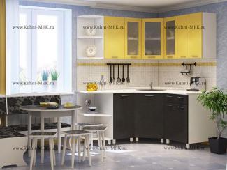 Кухня угловая Надежда-22-мыло - Мебельная фабрика «МЭК»