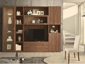Шкаф в гостиную С 08 - Мебельная фабрика «Миасс Мебель»